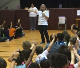 Cyndi at Delran Intermediate School